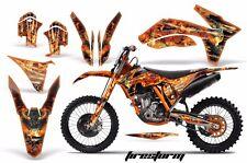 AMR Racing KTM Graphic Kit Bike Decal C7 EXC/XC/SX Decal MX Part 11-13 FIRESTORM