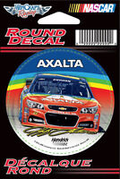 "Jeff Gordon Axalta Rainbow Round Vinyl Decal 3"" x 3"""