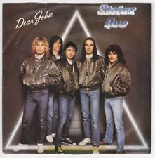 EP 45 TOURS STATUS QUO DEAR JOHN 1982 MADE IN ENGLAND