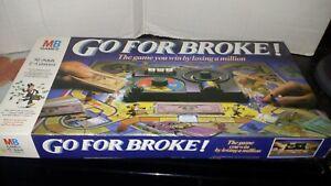 ~*~  MB GAMES  GO FOR BROKE~~~( 1985)