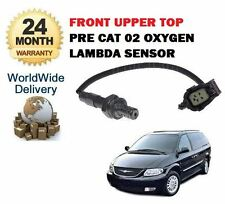 FOR CHRYSLER VOYAGER 2.4 RG 2000-->ON FRONT UPPER TOP O2 OXYGEN LAMBDA SENSOR