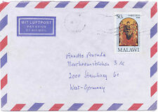 Malawi 1988 Airmail Cover to West Berlin Germany #538 Christmas Painting