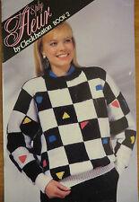 Cleckheaton Fleur 8ply knitting pattern Book2