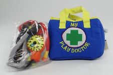 MY PLAY DOCTOR ~ PLUSH FIRST MEDICAL/VET FABRIC PLAYSET KIT ~ Doctor & Nurse~NEW