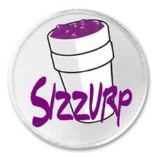 "Sizzurp Styrofoam Cup - 3"" Sew / Iron On Patch Purple Drank Lean On"
