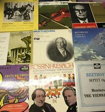 "10 x Classical Records‎–12"" LP Records 33rpm"