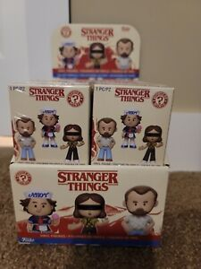 Funko Mystery Minis Stranger Things Mini Figures 12 pieces with display case