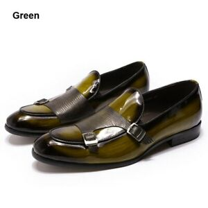 Leather Mens Loafers Shoes Wedding Party Dress Shoes Casual Men Slip On Shoes