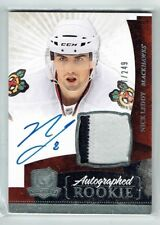 10-11 UD The Cup  Nick Leddy  /249  Auto  Patch  Rookie