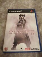 Playstation Games PS2 BLADE II 2 MARVEL, complete with manual. Old School Gaming