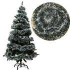 100 PCS Christmas Tree Ornament Decor Party Holiday Dark Green Ribbon Xmas Decor