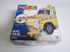 NEW YORK CITY 3D TAXI PUZZLE BY PUZZ3D NIB