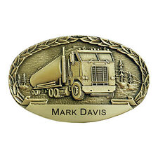 Cabover Personalized Belt Buckle OBM152P IMC-Retail