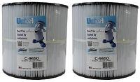 2) Unicel C-9650 Jacuzzi Spa Replacement Filter Cartridges CFR 50 Sq Ft FC-1460