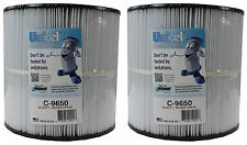2) Unicel C-9650 Jacuzzi Spa Replacement Filter Cartridges CFR 50 Sq Ft FC-1460