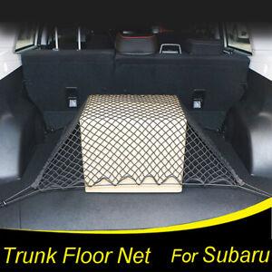 XUKEY Rear Trunk Cargo Net Floor Mesh Storage Organizer For Subaru Forester XV