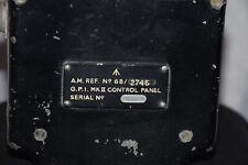 G.P.I. Mk II Control Panel - A.M. Ref. No.6B/2745 Broad Arrow