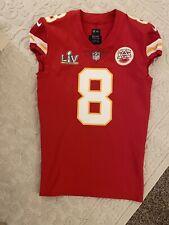 Kansas City Chiefs Matt Moore 2021 Super Bowl LV Game Issued Jersey!