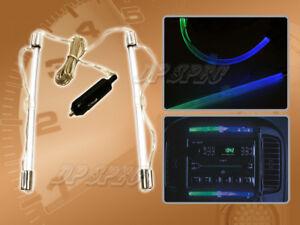 "PILOT IP-036BGWK 8"" BLUE/GREEN LED BEND-A-LIGHT FOR 2010-2014 DOMESTIC CAR SUV"