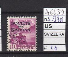 FRANCOBOLLI SVIZZERA SERVIZI USATI N°97A (A6639)