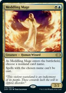 MTG Meddling Mage - Double Masters (NM) English Normal