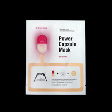 The Oozoo Power Capsule Mask Recovery Damaged Anti-Wrinkle Skincare Facial Mask