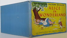 LEWIS CARROLL & JULIAN WHER The Animated Picture Book of Alice in Wonderland 1ST