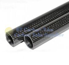 CF27-200 1x 27mm OD X 25mm ID x 200mm 3k in fibra di carbonio TUBO Roll-avvolto