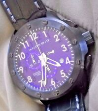 Mint ANDROID Stealth Swiss Chronograph Quartz Watch with Android Box
