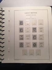 Fogli d'album Leuchtturm Gran Bretagna da Edoardo VII a Giorgio VI - 1902-51