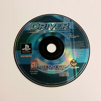 Driver: You Are the Wheelman Demo CD - Sony PlayStation 1, PS1, GT Interactive