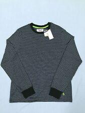 NWT Original Penguin Munsingwear LS TShirt Medium Color Rosin Striped $59