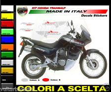 ADESIVI MOTO  TRANSALP KIT FIANCATE SERBATOIO FIANCHI SOTTOSELLA