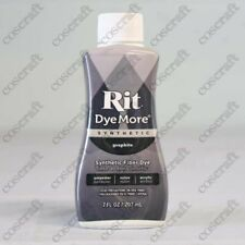 Rit Dyemore Dye for Synthetic Fabrics, in Graphite, UK Seller