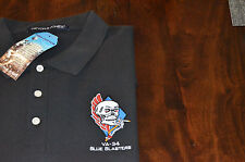 VA-34 Blue Blasters Embroidered Polo Shirt