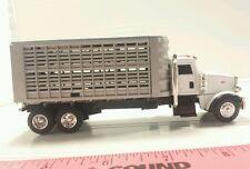 1/64 ERTL farm toy custom peterbilt livestock straight truck pigs cattle sheep