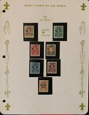 SIAM Thailand 1920*  Pfadfinder / Scouts Überdruck-Overprint (3) Postfrisch Mh