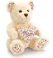Keel Toys Amor Corazón Mamá Oso Blanco