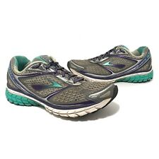 Brooks Womens Ghost 7 Running Walking Shoes Size 8 Grey
