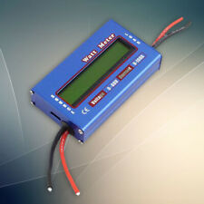 Digital LCD DC60V Balance Voltage Battery Power Analyzer Watt Meter Checker z x