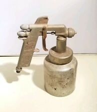 Vintage Speedy Paint Spray Gun Model 131A W.R. Brown Compressor Sprayer Untested