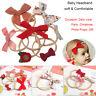 Style Floral Bowknot Baby Headband Nylon Hairband Hair Accessories Hair rope
