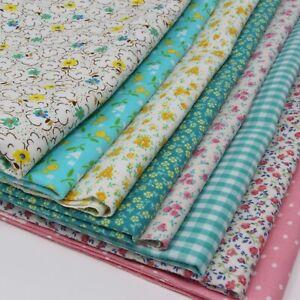 "4 Yards Vintage Fabric! (All 42""-45"" Wide) - 8 Prints (1/2 yard each)"