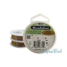 Beadalon Bead Stringing Wire 7 strand Good Flexibility .012-.015-.018 30 ft