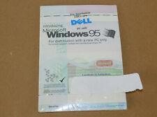 Dell Microsoft Windows 95 Introducing Windows Manual w/COA and Product Key & CD