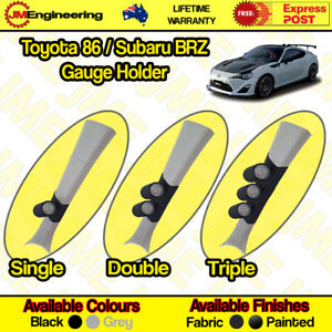 "Toyota 86 / Subaru BRZ Gauge Holder Pillar Pod CLIP ON 52mm 60mm 2"" inch"