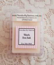 Soy Wax Melt Clam *Black Sea Salt*