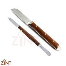 Dental Fahen Wax Knife Porcelain Modeling Carver Plaster Alginate Mixing Spatula
