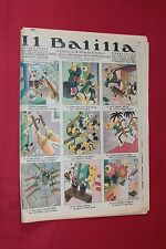 rivista a fumetti IL BALILLA Supplemento Popolo d'Italia ANNO XIII N.19 (1935)
