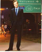 Conan O'Brien AUTOGRAPH Signed 8x10 Photo H ACOA
